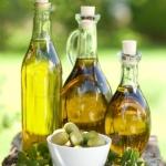 Fresh Olive Oil Bottles